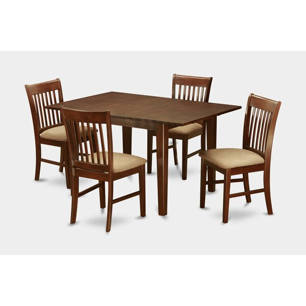Lorelai 5 Piece Dining Set By Alcott Hill Purchase