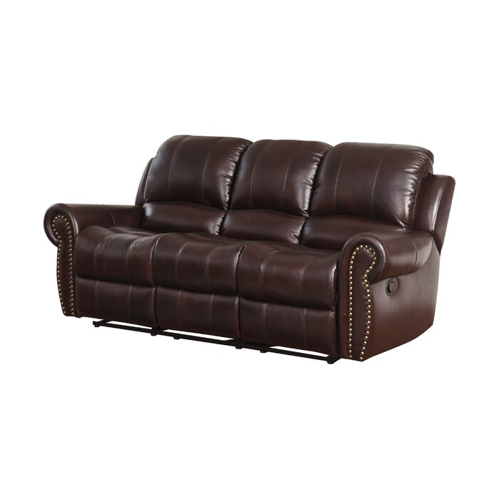 Tremendous Barnsdale Leather Reclining Sofa Alphanode Cool Chair Designs And Ideas Alphanodeonline
