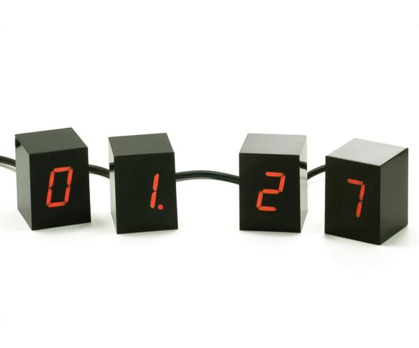 Jonas Damon Tabletop Clock by Areaware