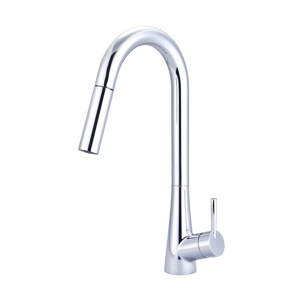 Pull-Down Single Handle Kitchen Faucet by Olympia Faucets