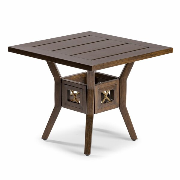 Echo Bay Aluminum Side Table by Eddie Bauer