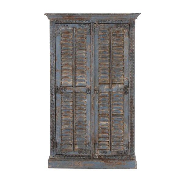 Croskey 2 Door Wood Armoire Accent Cabinet by Gracie Oaks