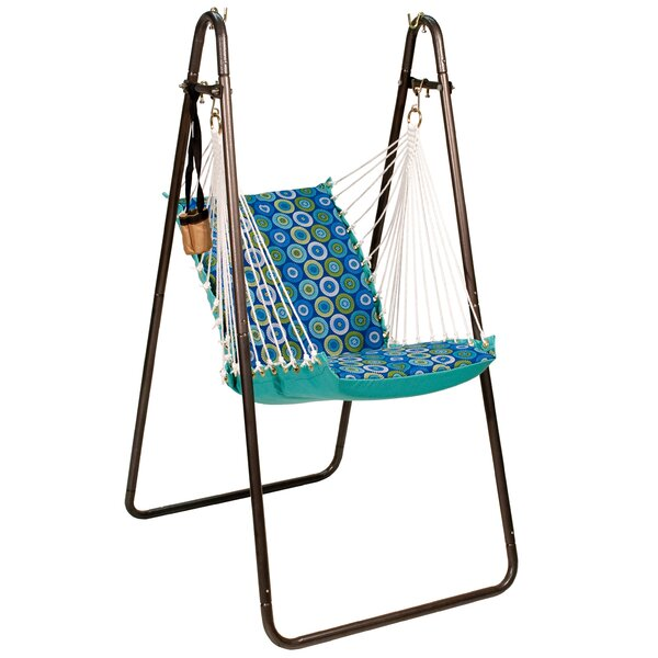 Borst Polyester Chair Hammock with Stand by Freeport Park Freeport Park