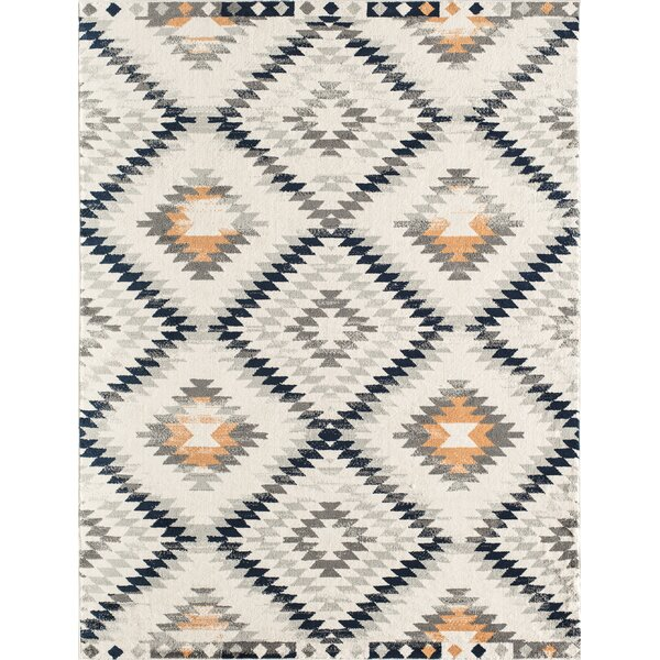 Moroccan Nadja Tribal Gold Area Rug by CosmoLiving by Cosmopolitan