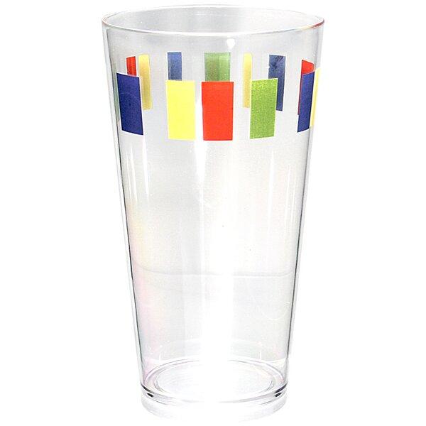 Livingware Memphis 6 Piece 19 oz. Plastic Every Day Glass Set by Corelle
