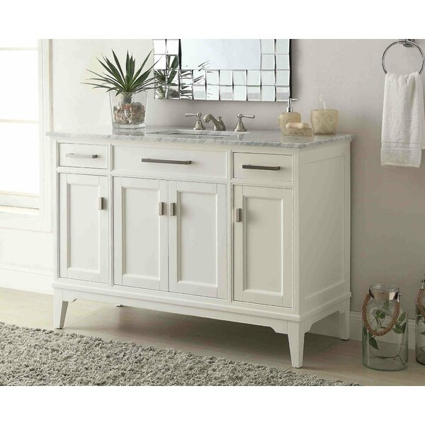 Prince 49 Single Bathroom Vanity Set by Charlton Home