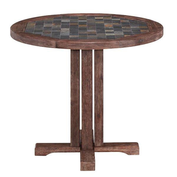 Lakewood Round Dining Table by Millwood Pines