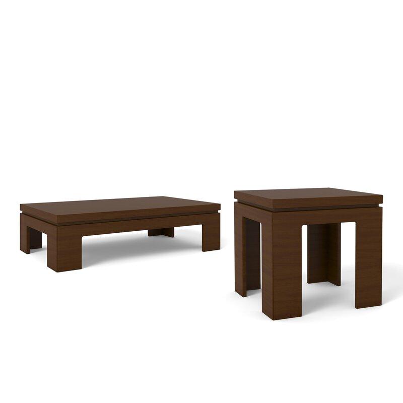 Belwood 2 Piece Coffee Table Set