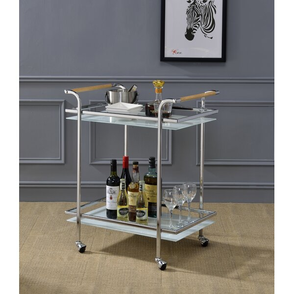 Avawatz Serving Bar Cart by Latitude Run Latitude Run