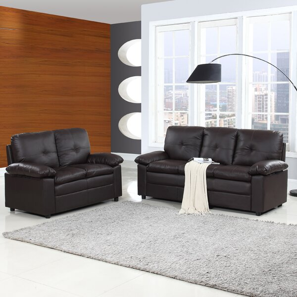 Brittanie 2 Piece Living Room Set by Ebern Designs