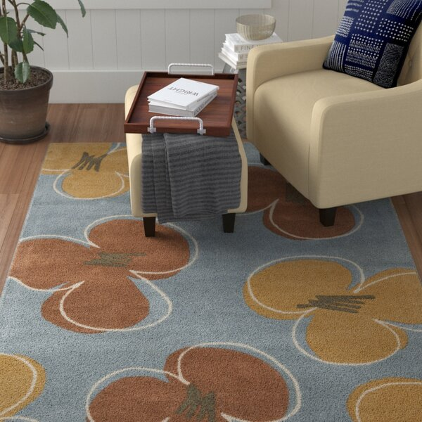 Armstrong  Hand-Tufted Blue Area Rug by Winston Porter