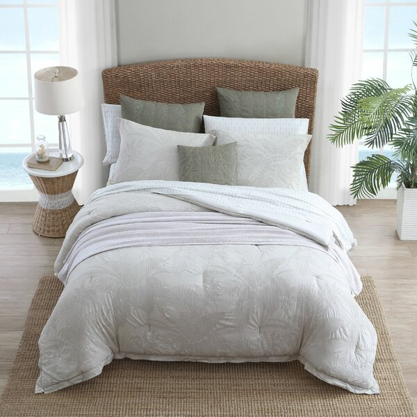 Abalone Cotton Reversible Comforter Set