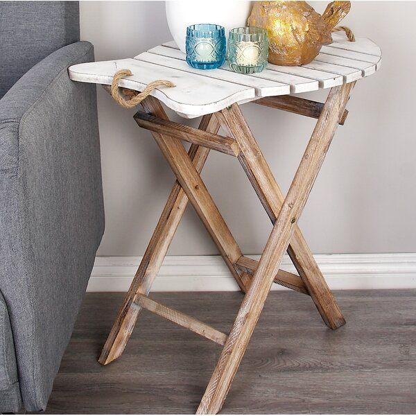 Kenna End Table by Highland Dunes