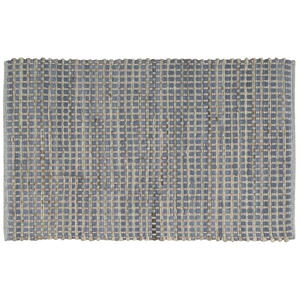Hans Gray/Blue Area Rug by Bloomsbury Market