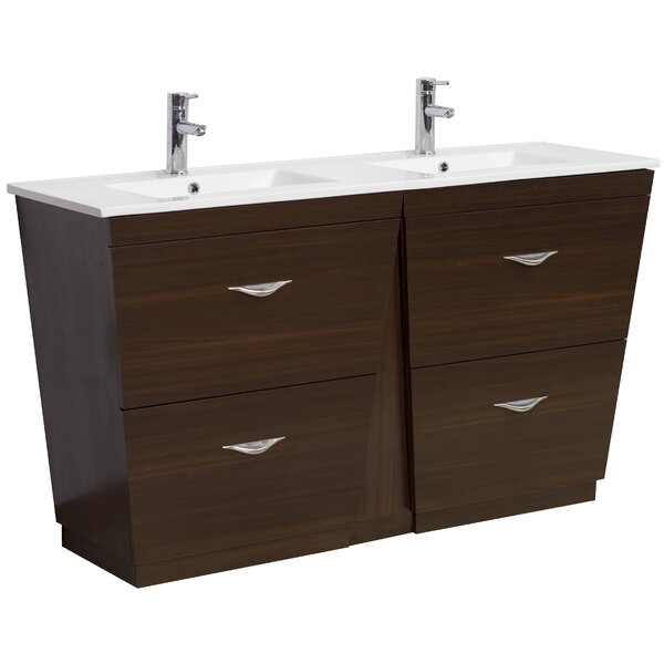 48 Double Modern Bathroom Vanity Set by American Imaginations