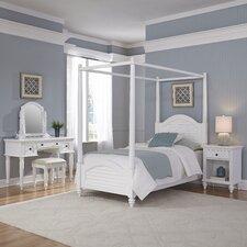 Kenduskeag Canopy 4 Piece Bedroom Set by Breakwater Bay