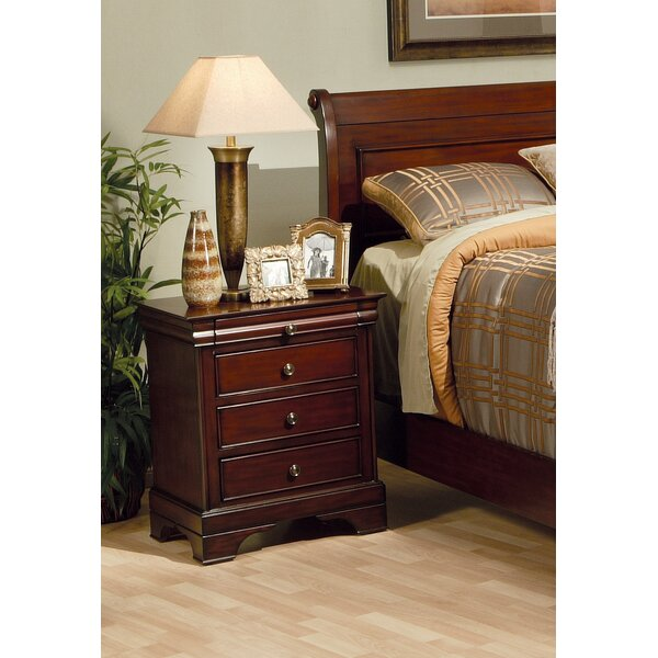 Maquon 3 Drawer Nightstand By Darby Home Co by Darby Home Co Cheap