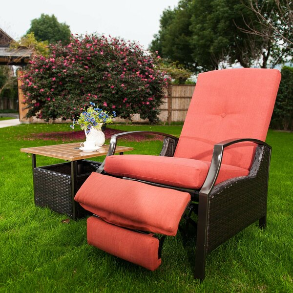Goleta Patio Chair with Cushions by Bay Isle Home