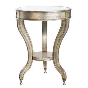 Ettore Mirrored Accent Table by Willa Arlo Interiors