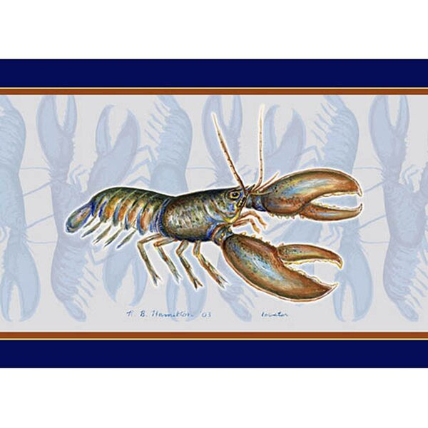 Lobster Placemate (Set of 4) by Betsy Drake Interiors