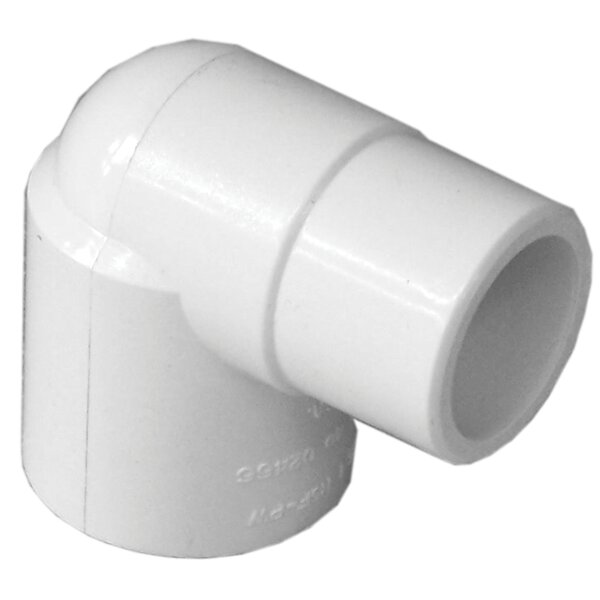 PVC 90 Street Elbow (Set of 10) by GenovaProducts