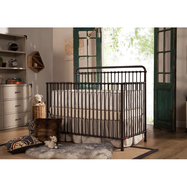 Winston 4-in-1 Convertible Crib by Million Dollar