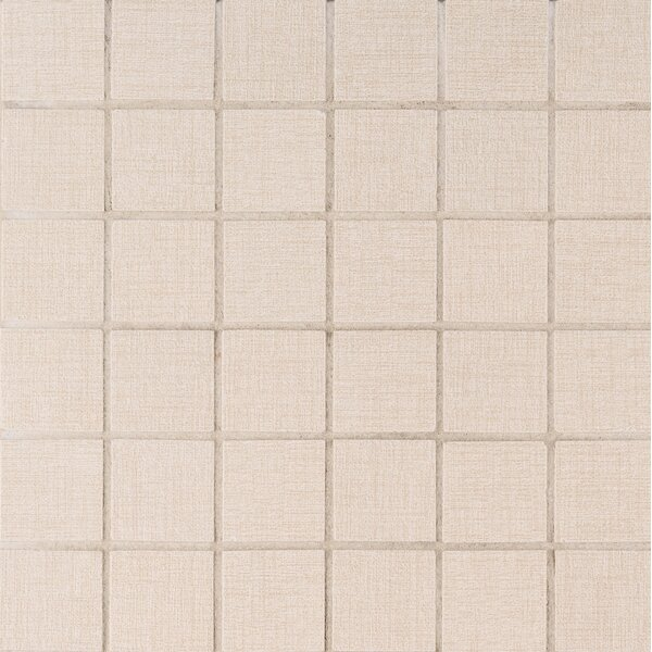 Loft 2 x 2 Porcelain Mosaic Tile in Beige by MSI