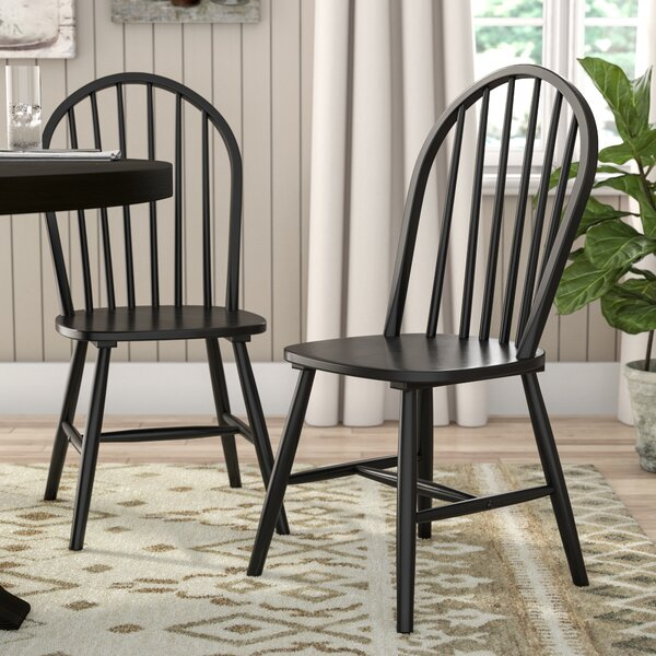 Snydertown Slat Back Dining Chair (Set Of 2) By Laurel Foundry Modern Farmhouse