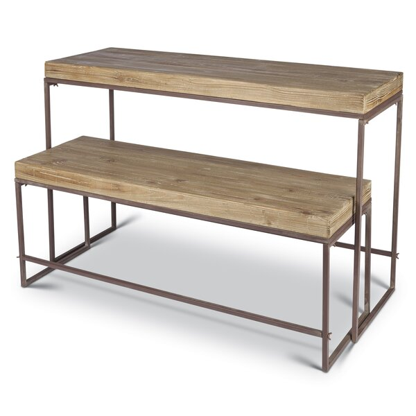 Mckamey 2 Piece Nesting Tables by Bungalow Rose