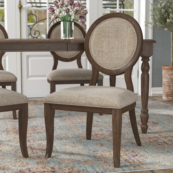 Bloomingdale Upholstered Dining Chair (Set of 2) by One Allium Way