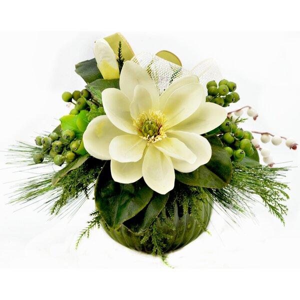 Festive Mixed Floral Arrangements And Centerpieces In Vase Joss Main