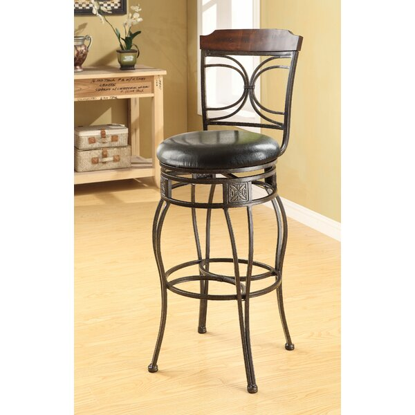 Kevan 29 Swivel Bar Stool (Set of 2) by Bloomsbury Market