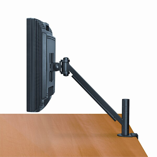 Plat Panel Monitor Height Adjustable Universal Desk Mount by Fellowes Mfg. Co.