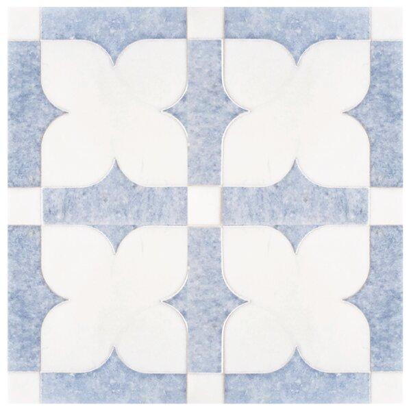 Arabian Nights 7 x 7 Marble Mosaic Tile
