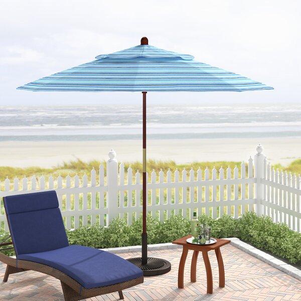 Mraz 9' Market Sunbrella Umbrella By Beachcrest Home by Beachcrest Home Top Reviews