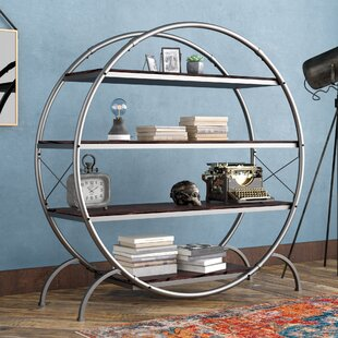 Evon Industrial Etagere Bookcase By17 Stories