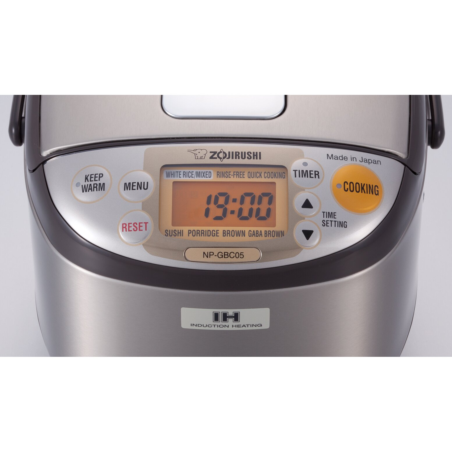 3cup Stainless Induction Heating System Rice Cooker And Warmer