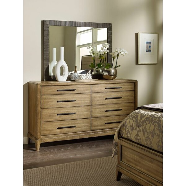 Annabella 8 Drawer Double Dresser with Mirror by Foundry Select