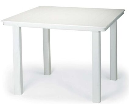 Marine Grade Polymer 42 Square Dining Table by Telescope Casual