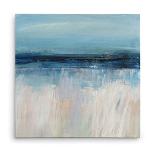'On the Severn I' Oil Painting Print on Wrapped Canvas by Highland Dunes