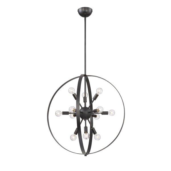 Caius 12 - Light Sputnik Globe Chandelier by Corrigan Studio Corrigan Studio