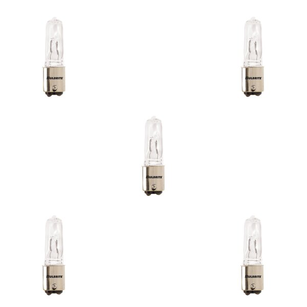 150W BA15d Dimmable Halogen Light Bulb (Set of 5) by Bulbrite Industries