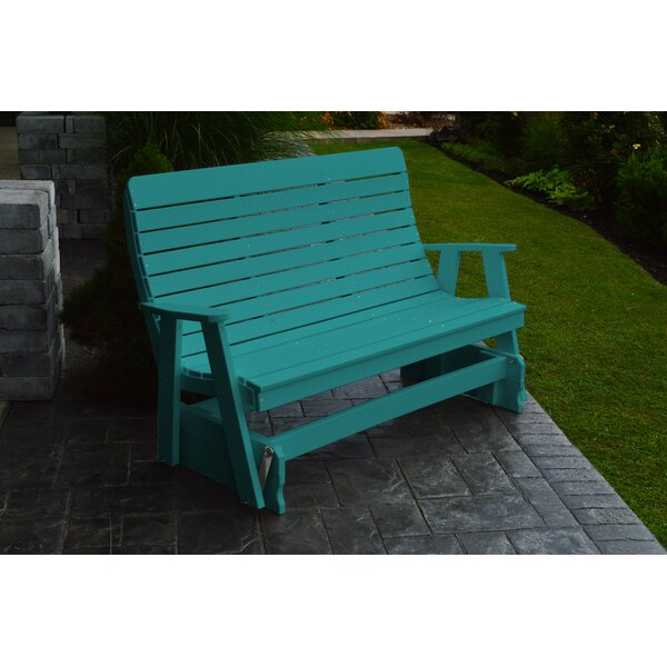 Poly Winston Glider Bench by A&L Furniture