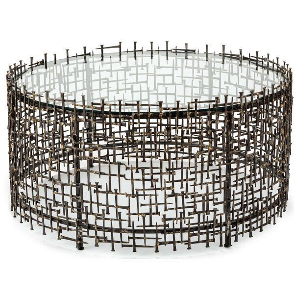 Laurel Abstract Coffee Table By Regina Andrew