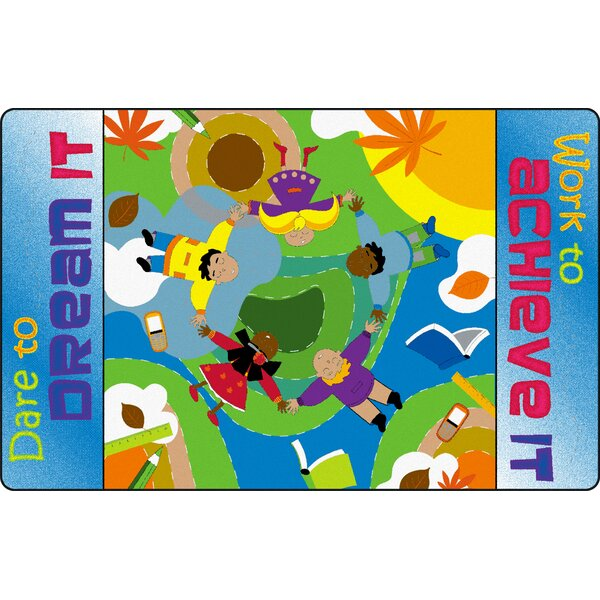 Dare to Dream Kids Rug by Flagship Carpets