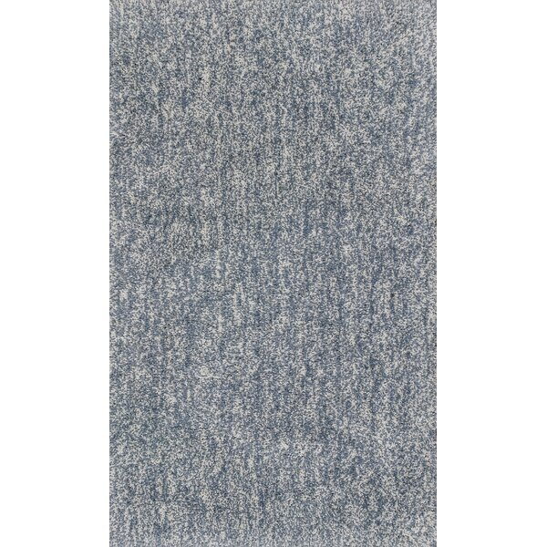 Bouvier Hand-Woven Slate Area Rug by Wrought Studio
