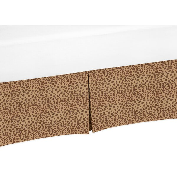 Cheetah Girl Crib Skirt by Sweet Jojo Designs