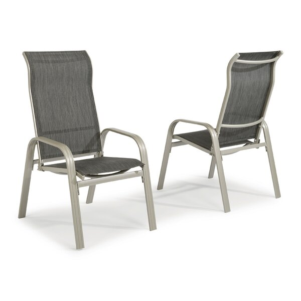 Dinan Patio Dining Chair By Red Barrel Studio by Red Barrel Studio Cool