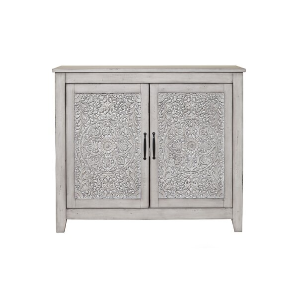 Odessa 2 Door Accent Cabinet by Bungalow Rose Bungalow Rose