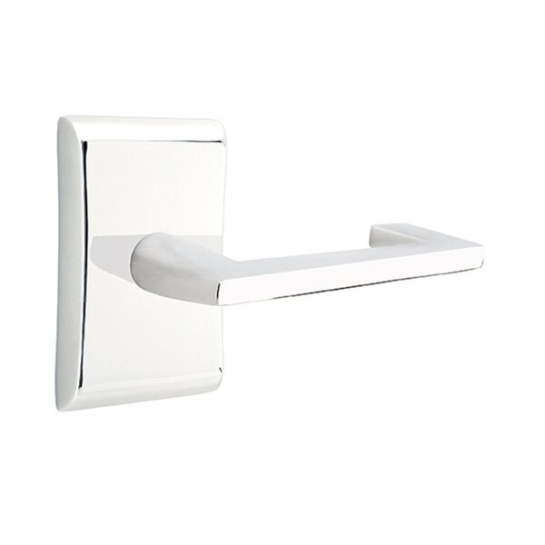 Emtek Privacy Argos Lever With Neos Rose Perigold